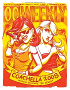 COACHELLA ISSUE 2007 • Illustration by Adam Turman • Art Direction by Kelly Alexis Lewis
