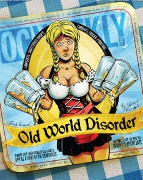 OLD WORLD DISORDER • Illustration by Steve Weigl • Art Direction & Design by Kelly Alexis Lewis