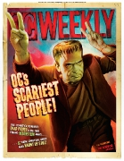 OC\'S SCARIEST PEOPLE 2008 • Illustration by Timothy Gabor • Art Direction by Kelly Alexis Lewis