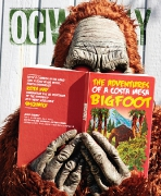 ADVENTURES OF A COSTA MESA BIGFOOT • Photography by Keith May • Art Direction & Design by Kelly Alexis Lewis
