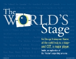 BILL MAGAZINE Autumn 2004 • The World\'s Stage Special Feature • editorial direction & design by Kelly Alexis Lewis