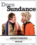 OC Weekly Feature: Douchebag Does Sundance • photography by John Gilhooley • design by Kelly Alexis Lewis