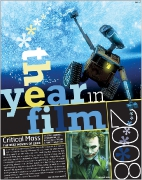 OC Weekly Feature: Film Issue 2008 • design by Kelly Alexis Lewis