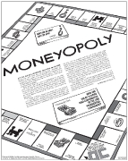 OC Weekly Feature: Moneyopoly • illustration by Kyle T. Webster • design by Kelly Alexis Lewis