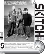 OC Weekly Feature: A Skitch in Time • photography by John Gilhooley • design by Kelly Alexis Lewis