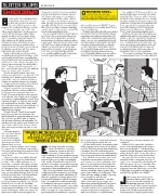 OC Weekly Feature: Slater Slums Smackdown • illustration by Jim Rugg • art direction & design by Kelly Alexis Lewis