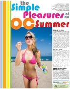 OC Weekly Special Issue: Summer Guide 2008 • photography by John Gilhooley • art direction & design by Kelly Alexis Lewis