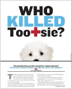 OC Weekly Feature: Who Killed Tootsie? • design by Kelly Alexis Lewis