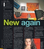 Time Out Feature: New Again • design by Kelly Alexis Lewis