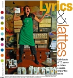 Time Out Feature: Lyrics & Lattes • design by Kelly Alexis Lewis