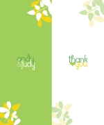 Wedding Stationery Suite | Thank You Card 1